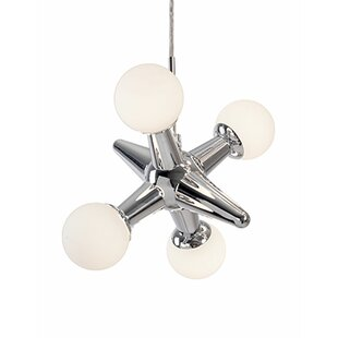 Radionic Hi Tech Hex 4-Light Novelty Pendant
