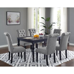 Evelin 7 Piece Dining Set by Charlton Home