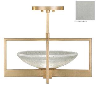Fine Art Lamps Delphi 1-Light Semi Flush Mount