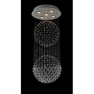CWI Lighting 5-Light Flush Mount