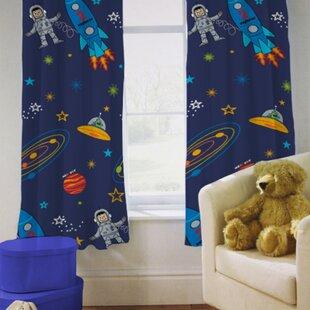 Space Boy Semi Sheer Curtains