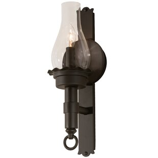 Meyda Tiffany Greenbriar 1-Light Candle Wall Light