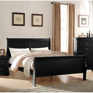 Slevin Low Profile Sleigh Bed