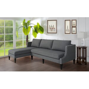 Arbus Reversible Sectional by Darby Home Co