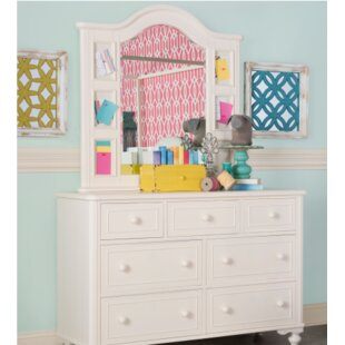 Look for Summerset 7 Drawer Dresser with Mirror By LC Kids