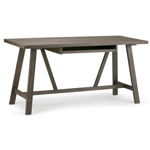 Witham Solid Wood Writing Desk by Greyleigh Amazing