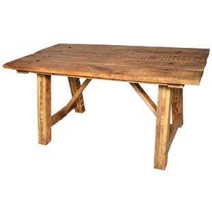 Theodore Solid Wood Dining Table by Millwood Pines New Design
