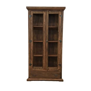 Bungalow Rose Drennon Display China Cabinet
