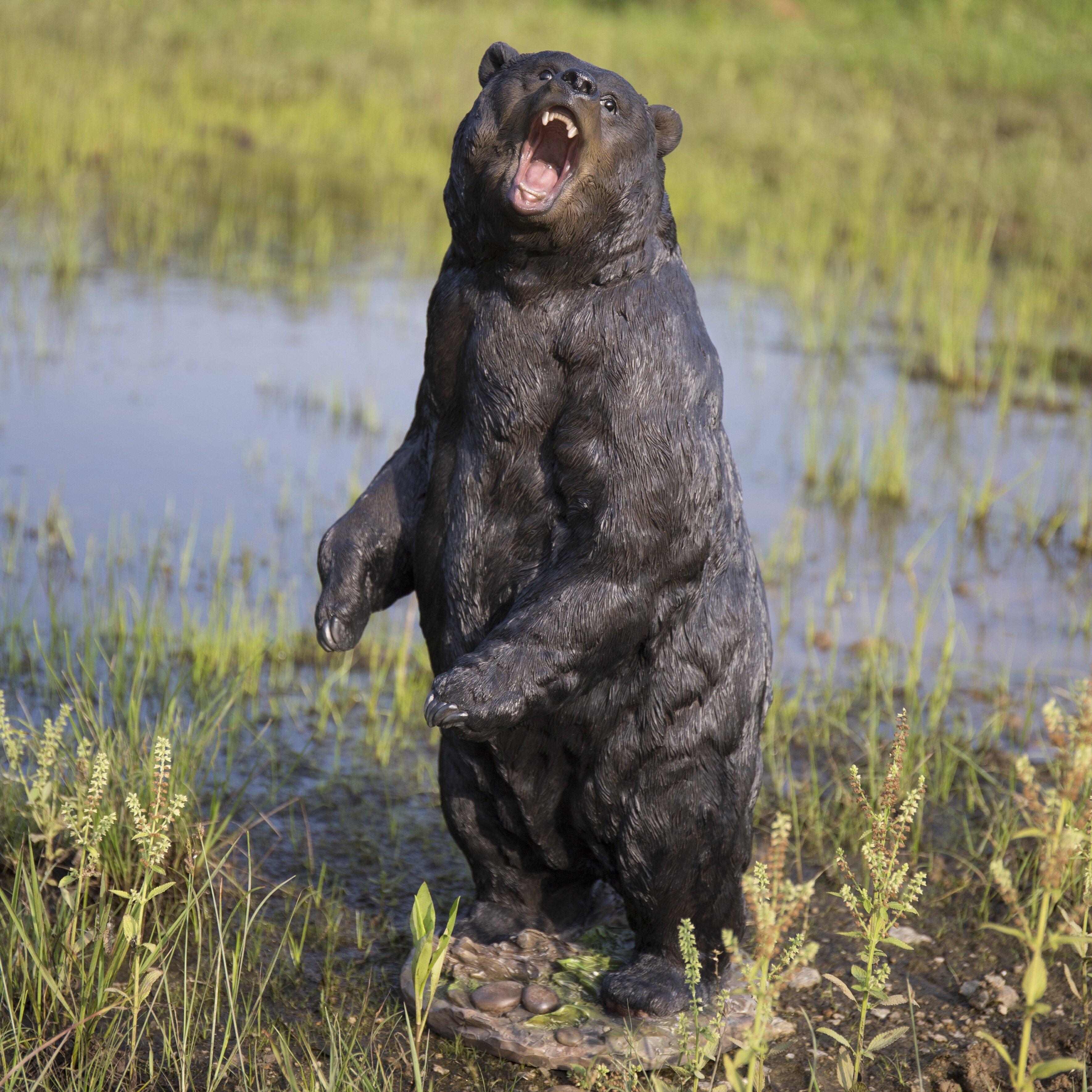 Hi Line Gift Ltd Growling Bear Standing Statue Reviews Wayfair