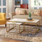 Brookby Place 2 Piece Coffee Table Set by Foundry Select
