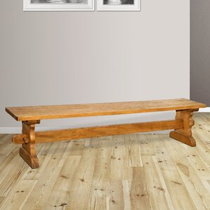 Santa Fe Wood Bench by Casual Elements