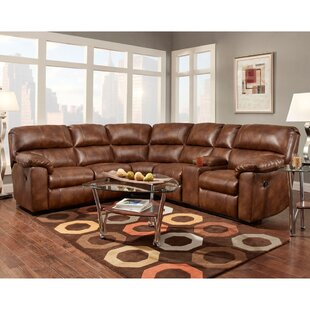 Red Barrel Studio Lachelle Home Theater Seating Reclining Sectional