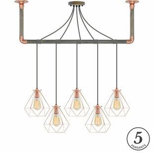 Ted 5-Light Kitchen Island Pendant by Brayden Studio