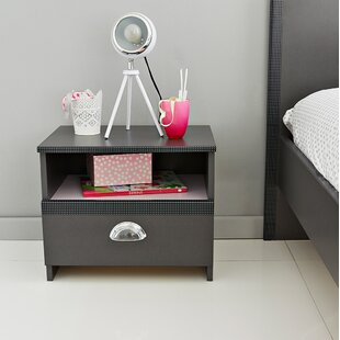 Tatoo 1 Drawer Nightstand by Parisot