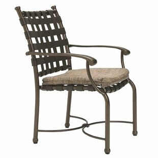 Sorrento Patio Dining Chair with Cushion by Tropitone