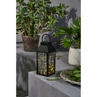 Sama 30cm Solar Powered LED Outdoor Lantern By Sol 72 Outdoor