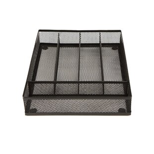 Mesh Cutlery Tray Flatware Caddy (Set of 2)