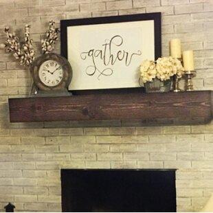 Fireplace Shelf Mantel By Midwood Designs