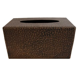 Premier Copper Products Hand Hammered Copper Tissue Box Cover