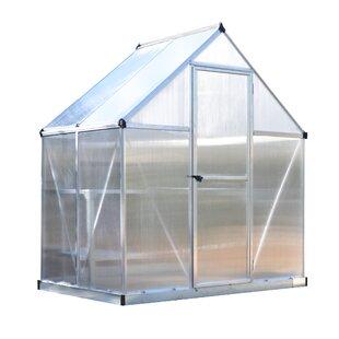 Palram Mythos 6 Ft. W x 4 Ft. D Greenhouse