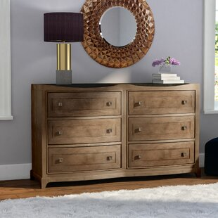 Alcalde 6 Drawer Double Dresser