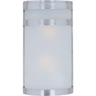 Best Alyce 2-Light Outdoor Flush Mount By Zipcode Design
