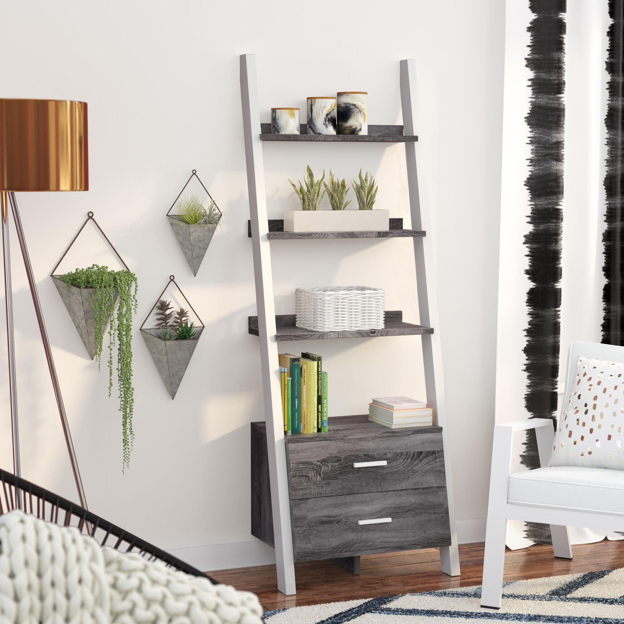 Monterra Ladder Bookcase
