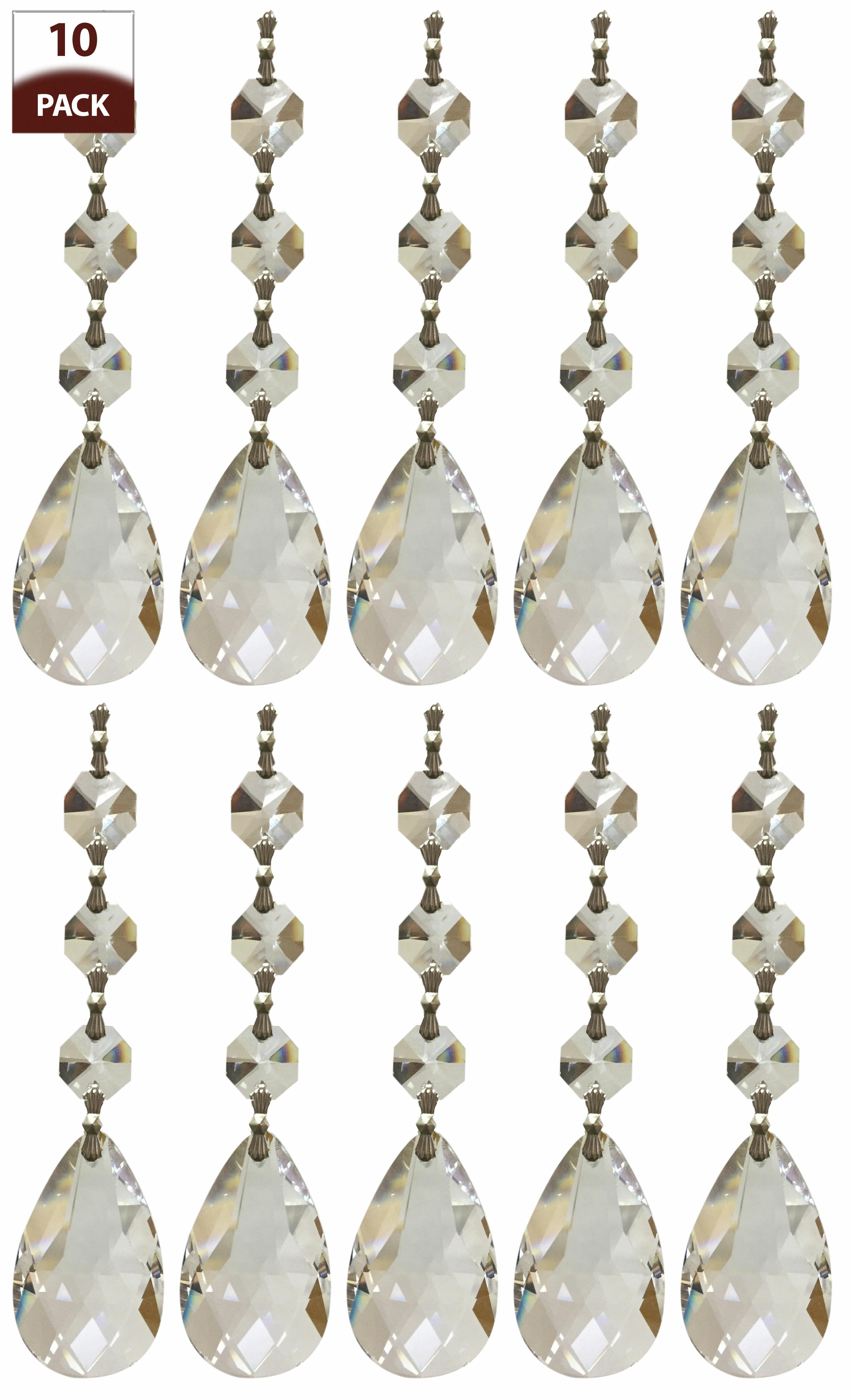 Royaldesigns Chandelier Replacement Crystal Prism Icicle U Drop Reviews Wayfair
