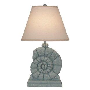 Jamil Sea Snail 26 Table Lamp