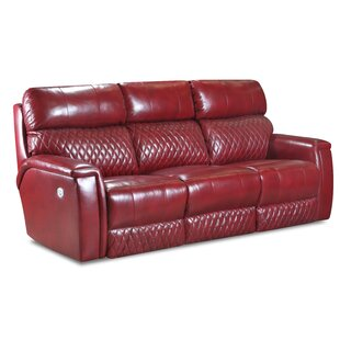 Compare prices High Rise Power Headrests Leather Reclining Sofa by Southern Motion Reviews (2019) & Buyer's Guide