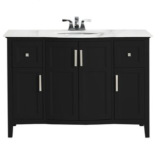 Winston Rounded Front 49 Single Bathroom Vanity Set By Simpli Home