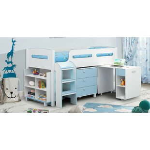Ferguson Single Mid Sleeper Bed With Furniture Set By Isabelle & Max