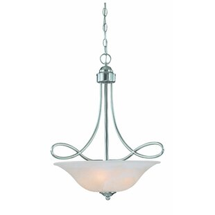 Charlton Home Ellis 3-Light Bowl Pendant