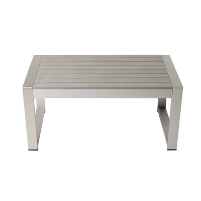 Karen Plastic Coffee Table by Rosecliff Heights Best Choices