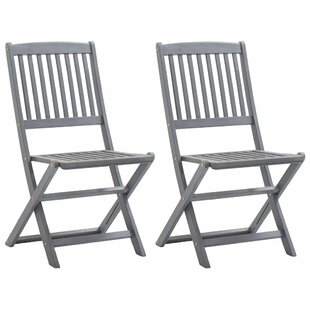 Boger Folding Garden Chair (Set Of 2) By Brambly Cottage