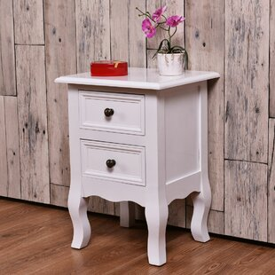 Reviews Batty Costway End Table with Storage by Canora Grey