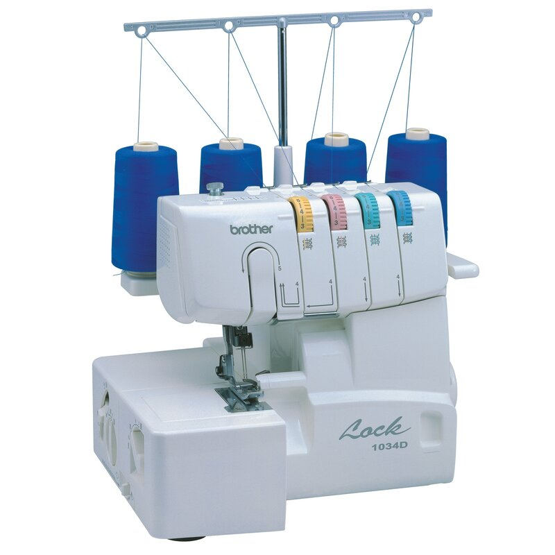 Brother Sewing 400 Or 40 Thread Serger With Easy Lay In Reviews Wayfair Unique Used Regina Sewing Machines