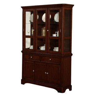 Chester Lighted China Cabinet by Alcott Hill