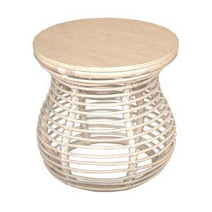 Jolie End Table by Highland Dunes