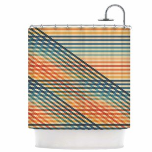 Ovrlaptoo Single Shower Curtain