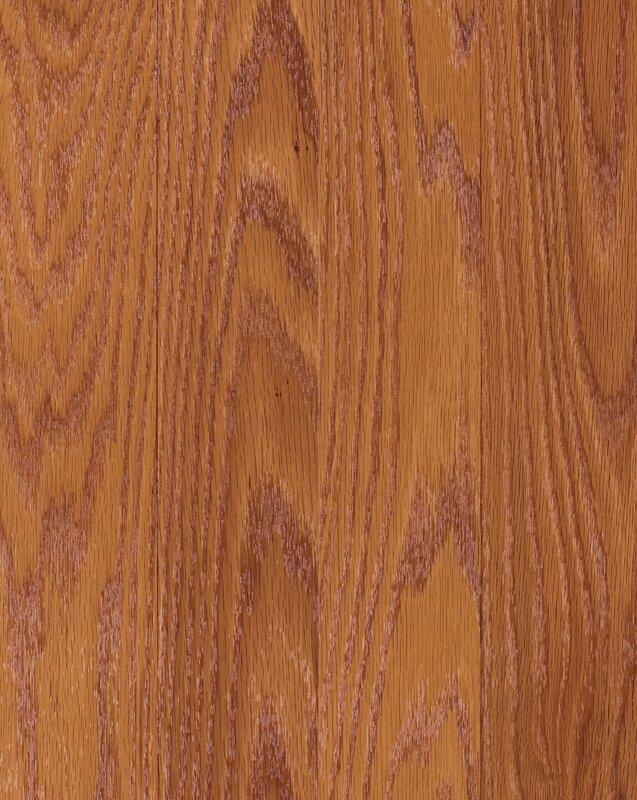 "Genova 6"" x 54"" x 8mm Oak Laminate Flooring in Cinnamon Oak"