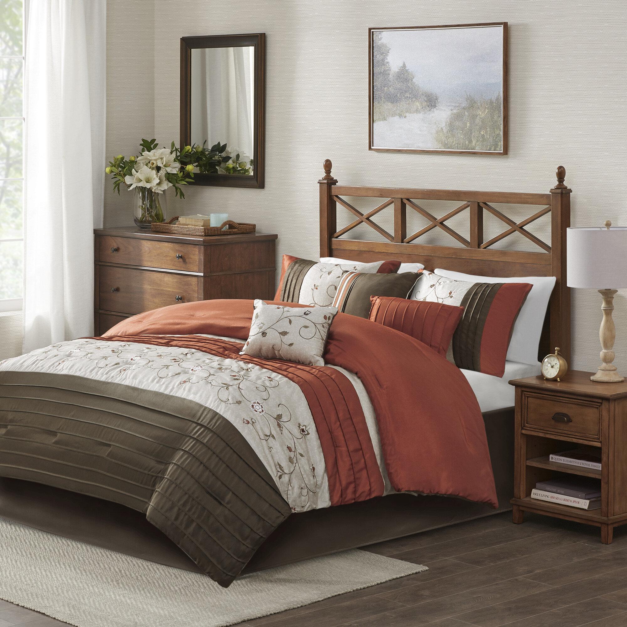 Comforter Orange Bedding You Ll Love In 2021 Wayfair