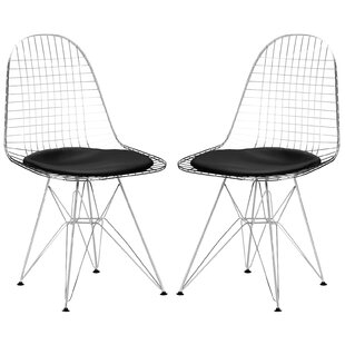 Online Reviews Hamlet Upholstered Dining Chair (Set of 2) by Edgemod Reviews (2019) & Buyer's Guide