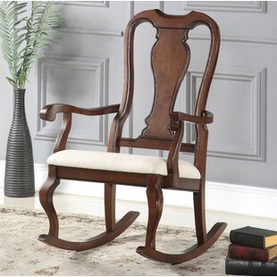 Affordable Price Delapena Rocking Chair by Charlton Home Reviews (2019) & Buyer's Guide