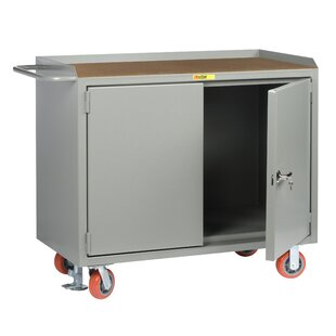 Mobile 54W Wood Top Workbench by Little Giant USA