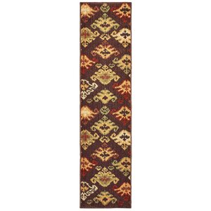 Isabel Tribal Ikat Brown/Gold Area Rug