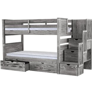 Best Deals Tena Twin over Twin Bunk Bed by Harriet Bee Reviews (2019) & Buyer's Guide