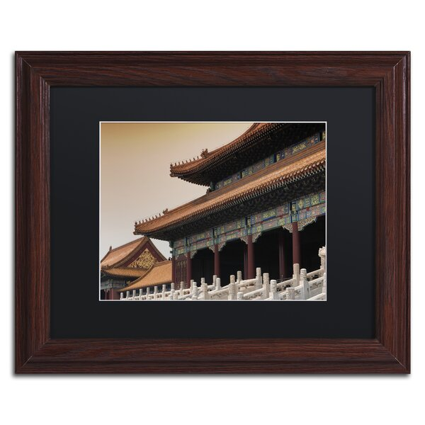 Trademark Art Forbidden City By Philippe Hugonnard Framed Photographic Print Wayfair
