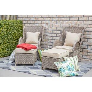 One Allium Way Virginia Patio Chair with Cushion
