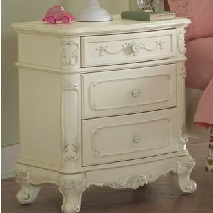 Jaxton 3 Drawer Nightstand by Astoria Grand
